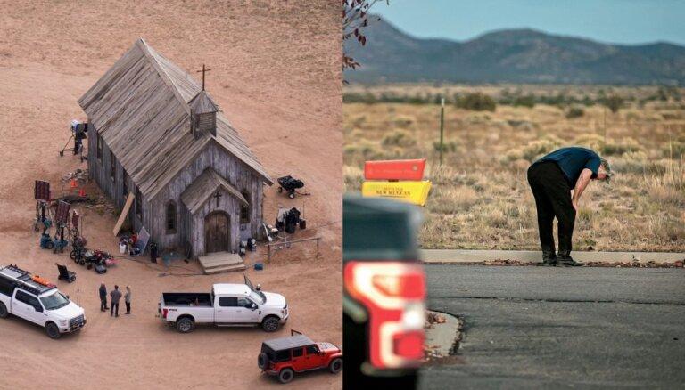 Traģēdijā filmēšanas laukumā Boldvinam ticis izsniegts ierocis ar īstām lodēm