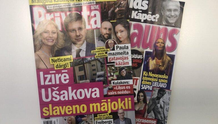 Сколько стоит дом Нила Ушакова, внучка Паулса выходит замуж, певица Саманта Тина лишилась зубов: о чем пишут латышские таблоиды