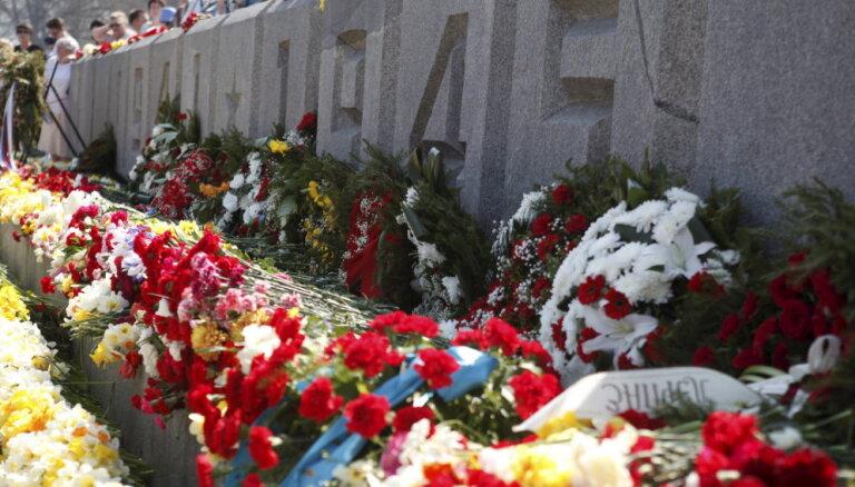 Памятник Освободителям Риги 9 мая не будет огорожен