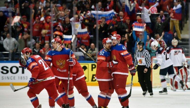 ВИДЕО, ФОТО: Как Россия разгромила американцев в матче за третье место
