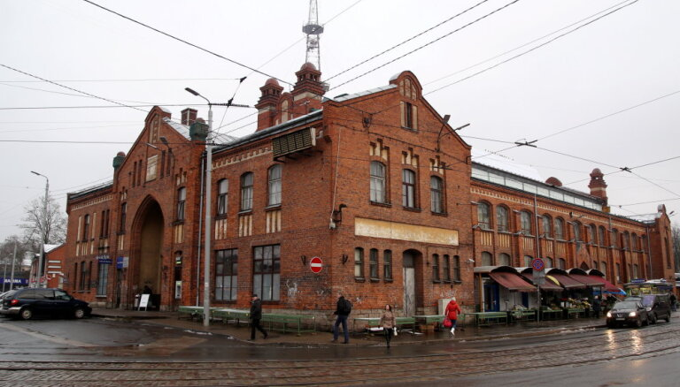 Агенскалнский рынок официально перейдет в ведение Рижской думы 5 февраля