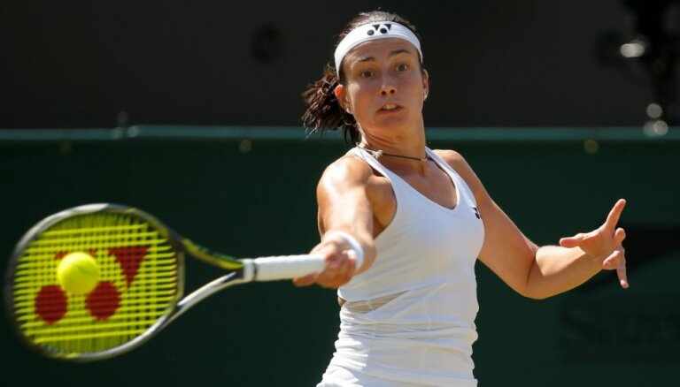 Sevastova spraigā cīņā Vimbldonā atzīst 'French Open' čempiones Krejčikovas pārākumu