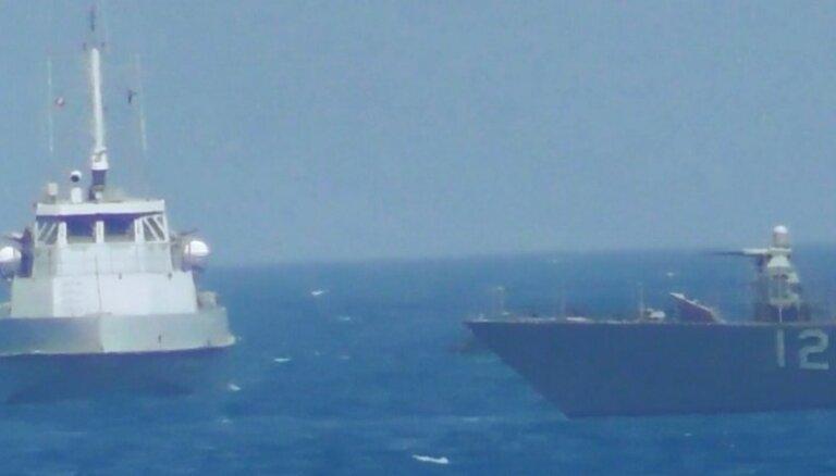 Irāna: priekšlikums par Eiropas vadītiem kuģošanas aizsardzības spēkiem Persijas līcī ir provokācija
