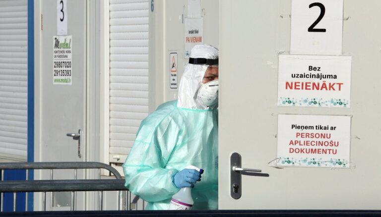 Почти две трети выявленных в среду случаев Covid-19 зарегистрированы в Риге и Даугавпилсе