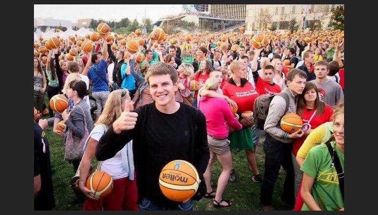Šauļos vēl pieejamas biļetes uz 'Eurobasket' spēlēm