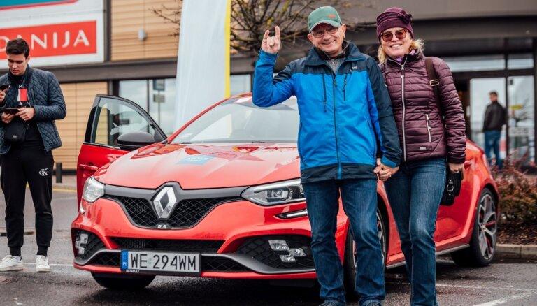 Foto: Sestdien norisinājusies 'Latvijas Gada auto' testu diena pie 'Mols'