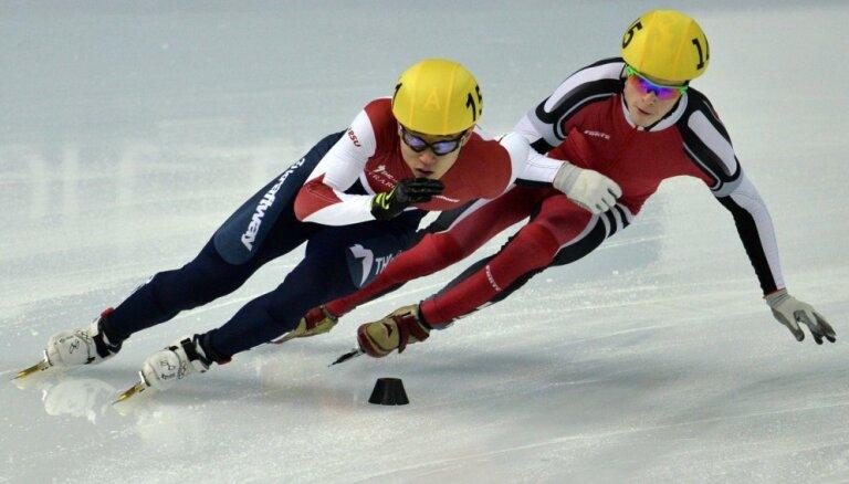 Šorttrekists Puķītis sasniedz karjeras rekordu - 7.vieta pasaules čempionāta 1000 metru distancē
