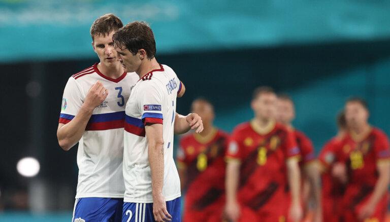 Сборная России на старте ЕВРО в Санкт-Петербурге крупно проиграла Бельгии