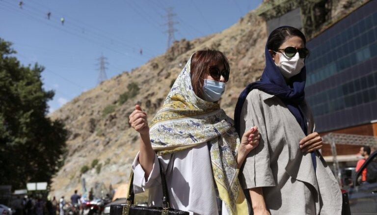 Irānā pirmo reizi divu mēnešu laikā no Covid-19 mirušu skaits dienā pārsniedz 100