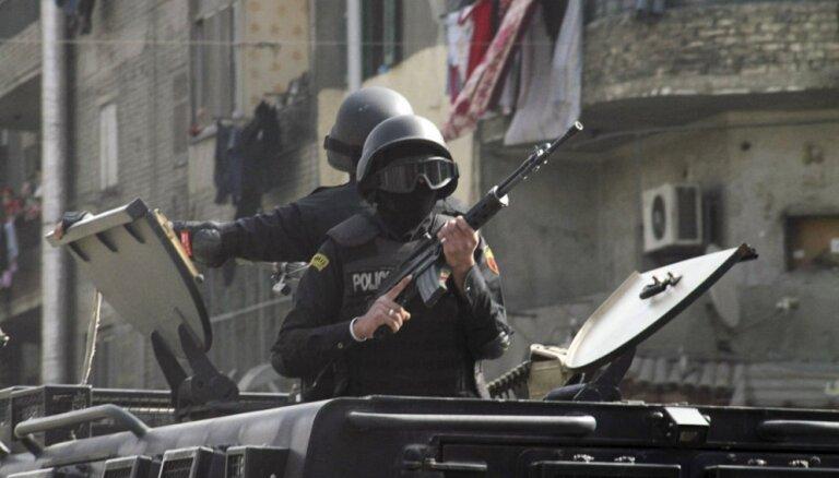Ēģiptes drošības spēki nogalinājuši pret koptu kristiešiem vērstā uzbrukuma vaininiekus