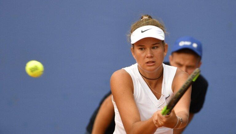 Bartone izcīna uzvaru pirmajā ITF junioru finālturnīra spēlē