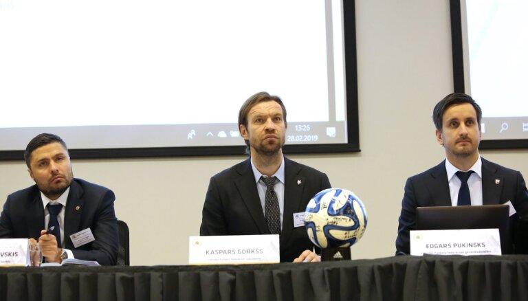 Верпаковскис и Старков ушли из правления Латвийской федерации футбола