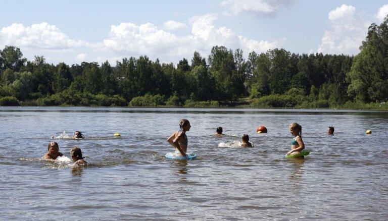 Температура воды в водоемах достигла +20 градусов