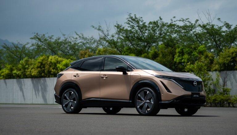 'Nissan Ariya' elektroauto debija tirgū atlikta pusvadītāju deficīta dēļ