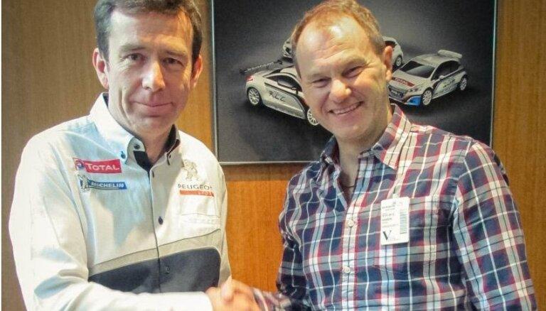 'Peugeot' pievienojas pasaules rallijkrosa čempionātam