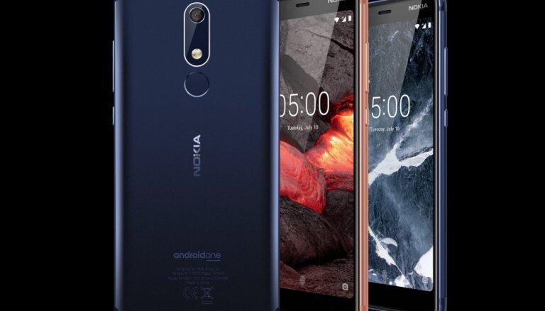 Tirdzniecībā Latvijā nonācis jaunais 'Nokia 5.1' viedtālrunis par 239 eiro