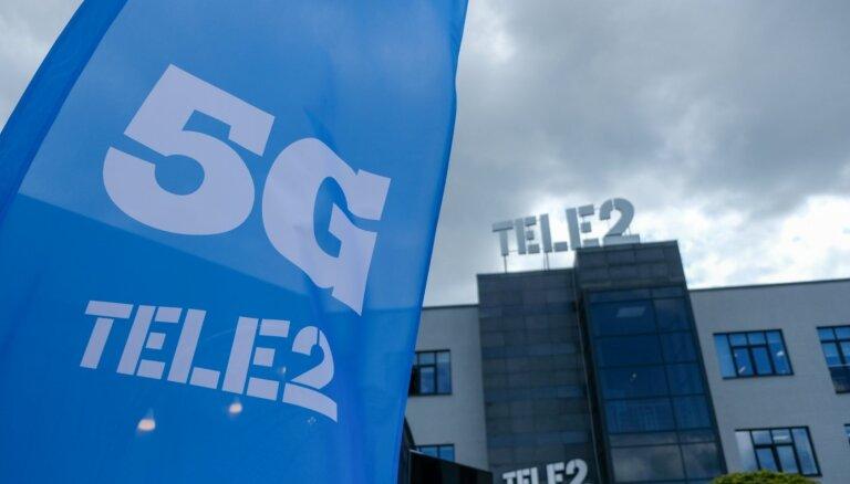 'Tele2' šogad plāno uzstādīt 5G bāzes stacijas 13 Latvijas pilsētās un to tuvumā