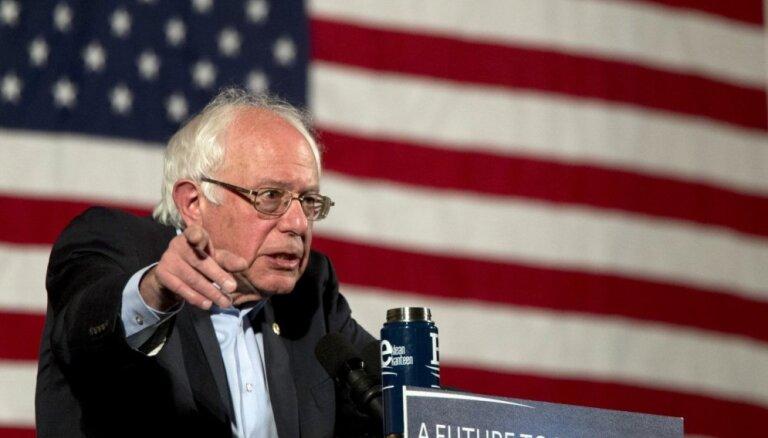 Берни Сандерс укрепил лидерство в борьбе за право выдвигаться в президенты США