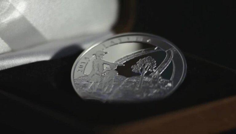 Kolekcijas monēta 'Vecais Stenders'
