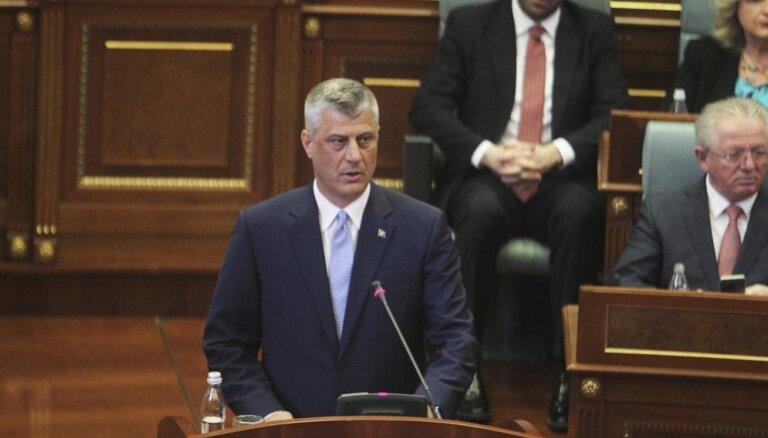 Vienošanos ar Serbiju iespējams panākt jau šogad, paziņo Kosovas prezidents