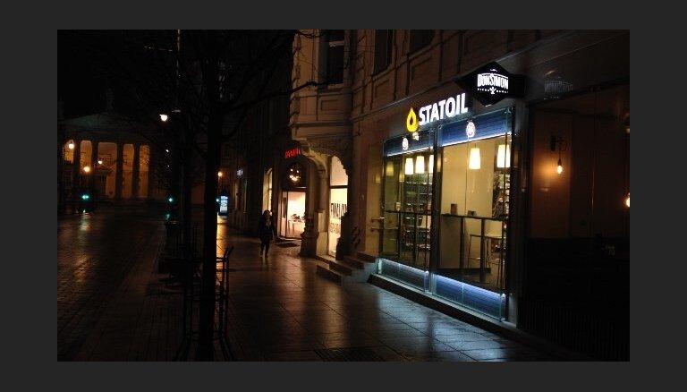 ФОТО: в Вильнюсе открылся первый магазин-кафе Statoil без автозаправки