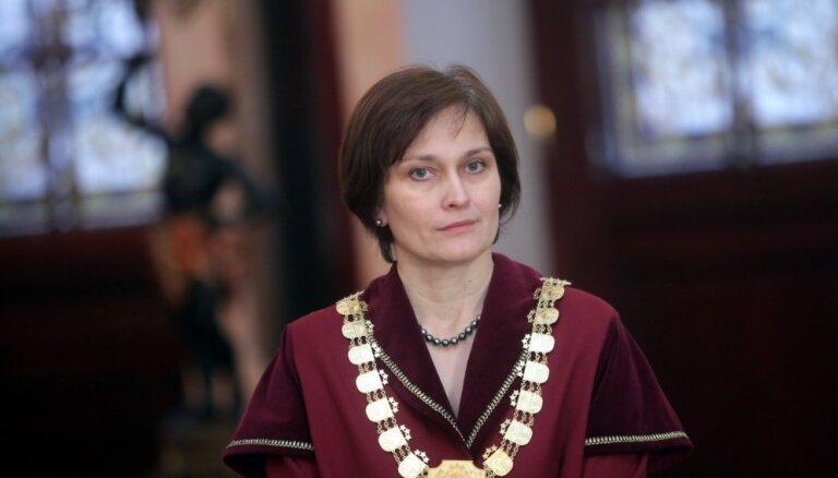 Par Satversmes tiesas priekšsēdētāju ievēl Inetu Ziemeli