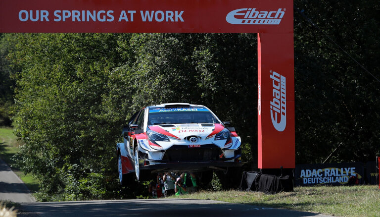 WRC posma organizēšanai Latvijā nepieciešami 450 000 eiro
