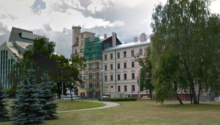 Государство выставило на торги здание в эксклюзивном месте Риги