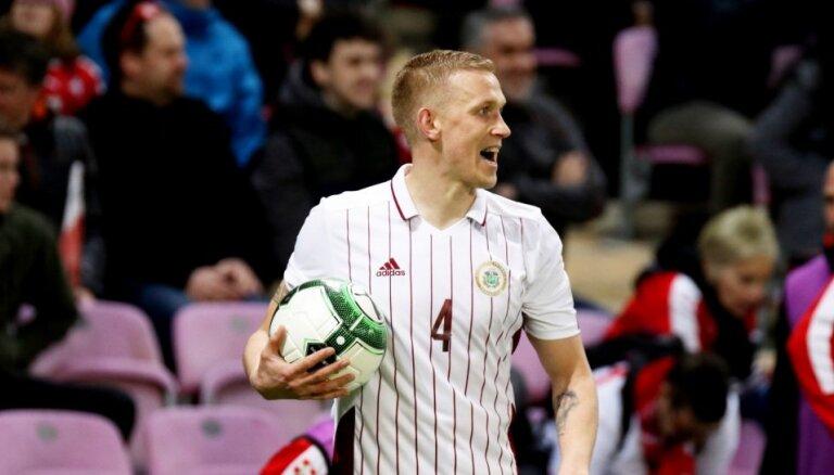 Latvijas futbola izlase pārbaudes spēlē viesos spēkojas ar Gruziju