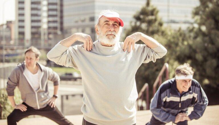 Ak, kauli, ak, locītavas! Mīti par veselīgu dzīvesveidu vecumā