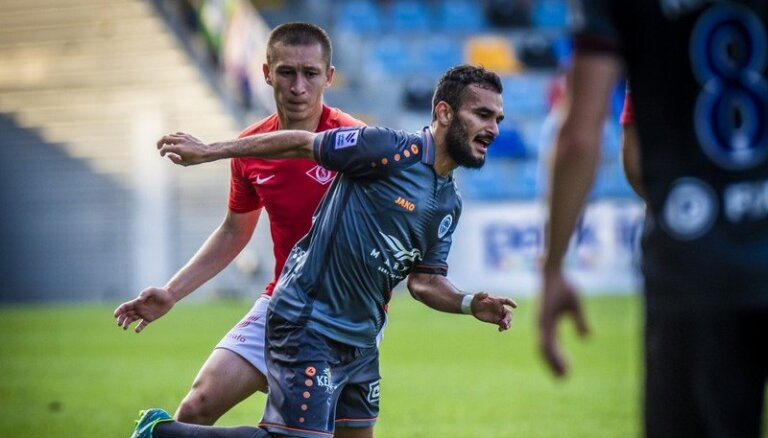 'Riga FC' pārstāvji atzīti par mēneša labākajiem 'Optibet Virslīgā'