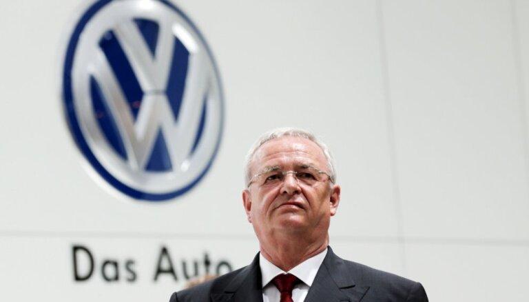 Глава Volkswagen отправлен в отставку на фоне громкого скандала