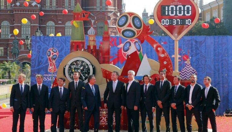 В Москве запустили часы обратного отсчета до старта ЧМ-2018
