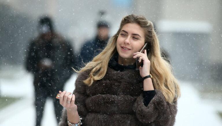 В субботу в Латвии: пасмурно и небольшой снегопад