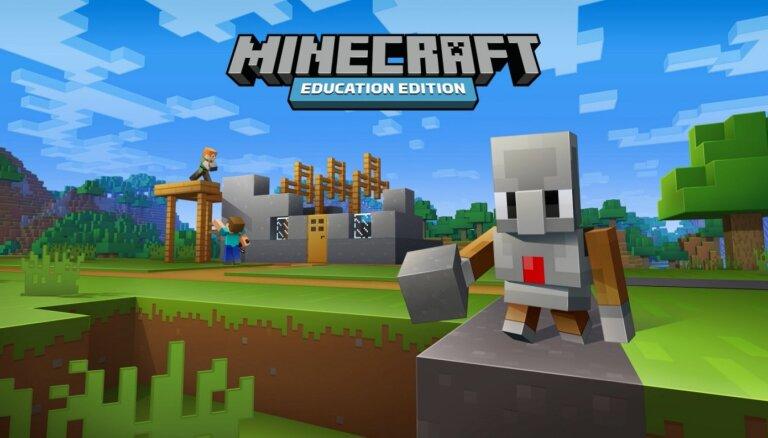 Команды рижских школ приглашают подавать заявки на участие в строительных соревнования Minecraft