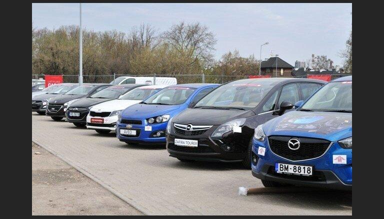 Продажа новых легковых автомобилей в первом квартале выросла на 24%