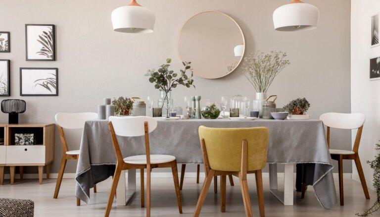 Apaļie spoguļi – modīga tendence mājokļu interjeros