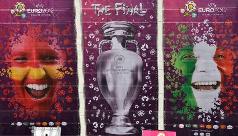 EURO 2012 Lielais fināls: kurš kuru – Itālija pret Spāniju