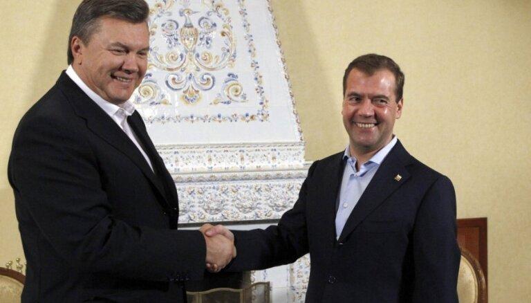 Медведев — Януковичу: что мы все о газе да о газе