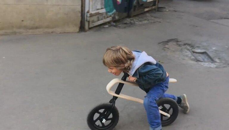 Latvijā sāks ražot jaunus līdzsvara riteņus 'Brum Brum'