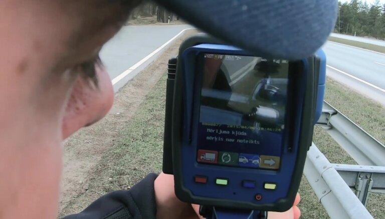 Kā darbojas policijas jaunie rokas radari