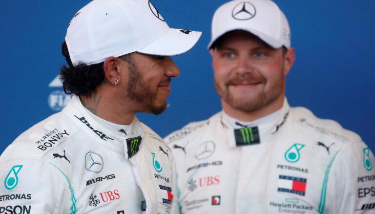 Par spīti spraigajai divcīņai, Hamiltonam nebūšot domstarpību ar Botasu