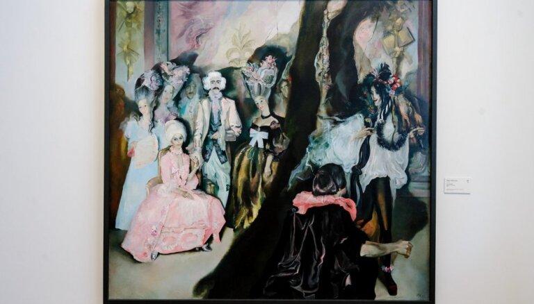 Vienas gleznas stāsts. Maija Tabaka 'Kāzas Rundālē'