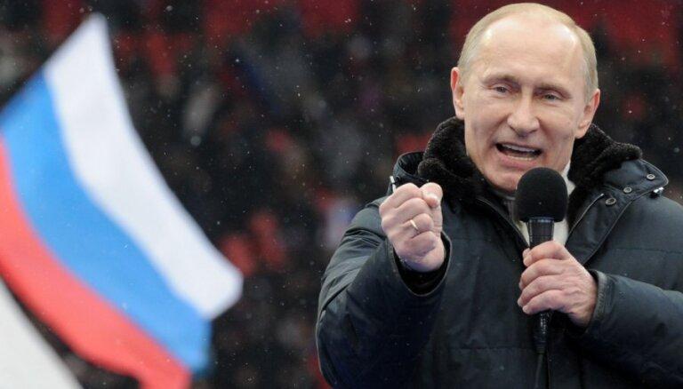 Путина назвали самым влиятельным политиком