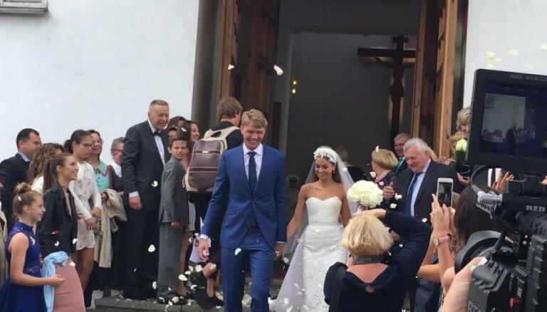 Ieskats Mindauga Kuzminska kāzās