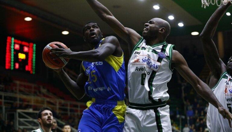 BK 'Ventspils' FIBA Čempionu līgas izbraukuma spēlē Itālijā uzvar spēcīgo 'Sidigas Avellino'