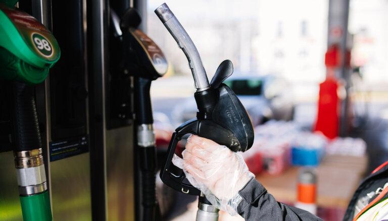 'Circle K': degvielas cenas Latvijā krīt pakāpeniski