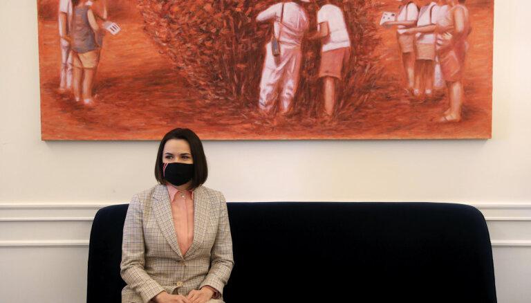 Светлана Тихановская встретилась с госсекретарем США