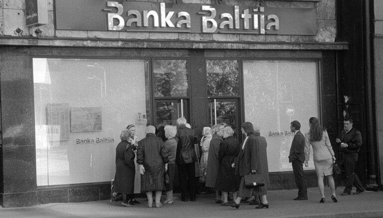 """Крах """"Банка Балтия"""". Денег нет, но на депозитах — миллионы: как жили латвийцы в 1995 году"""