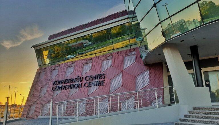 ФОТО: Крупнейший в Балтии конференц-центр сдан в эксплуатацию